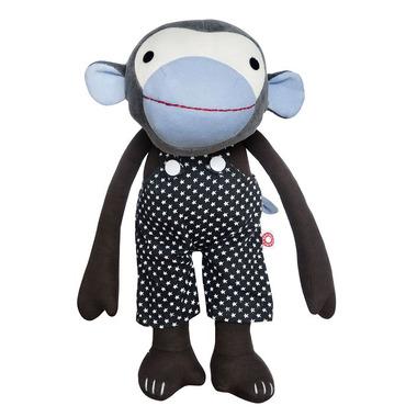 Maskotka Frederik w czarnych spodniach
