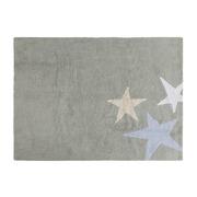 Dywan do prania w pralce Tres Estrellas Tricolor Azul/Blue