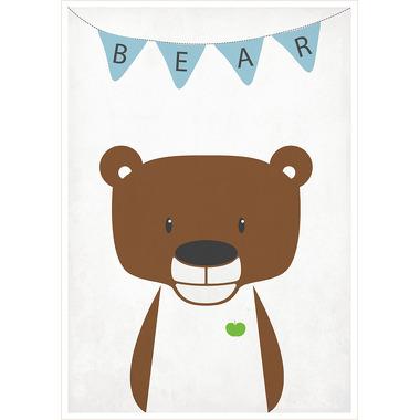 Plakat A3 Niedźwiedź