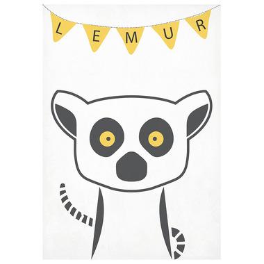 Plakat A3 Lemur