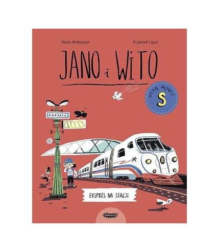 Książka Ekspres na stacji. Jano i...