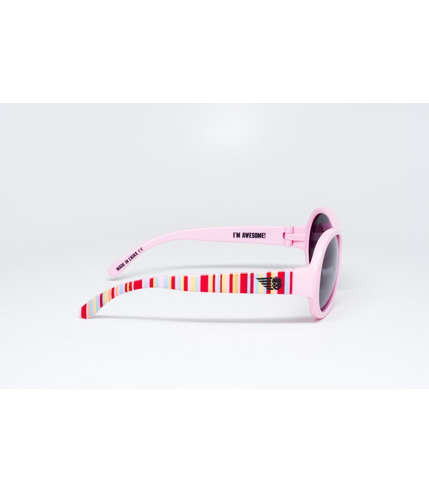 Okulary z polaryzacją tęczowy róż Babiators