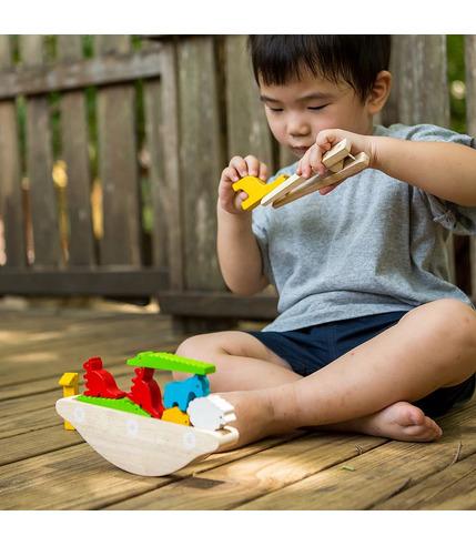 Balansująca łódka, Plan Toys