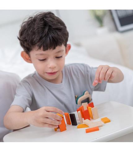 Plan Toys, Mini Domino w Metalowym...
