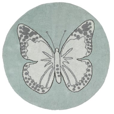Dywan Butterfly Green Lorena Canals
