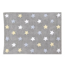 Dywan do prania w pralce Stars Grey Blue Lorena Canals
