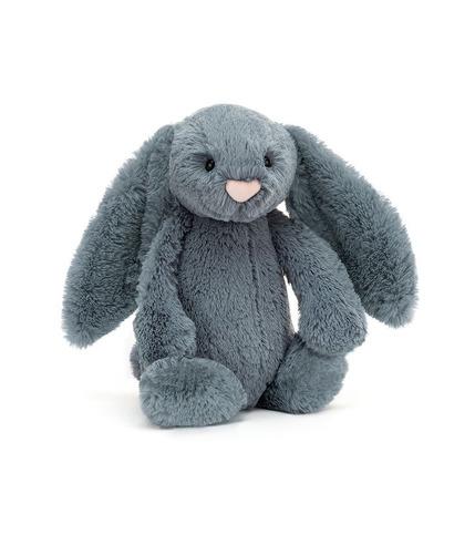 Jellycat, Bashful Dusky Blue Bunny...