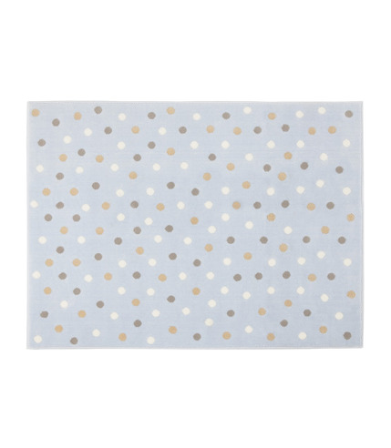 Dywan Akrylowy Dots Blue-Grey Linen White 200x300 Lorena Canals