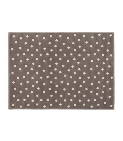 Dywan Akrylowy Dots Dark Grey Nude Lorena Canals