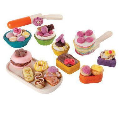 Akcesoria do ciastoliny cukiernia, Plan Toys
