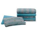 Dwustronna poduszka bawełniano-welurowa