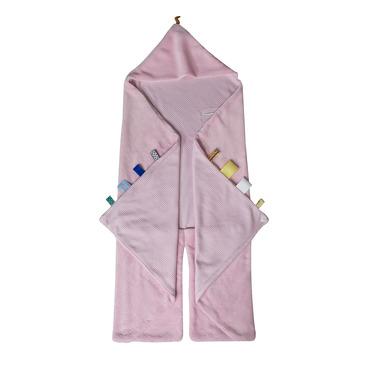 Śpiworek-otulaczek z metkami SNOOZEBABY - różowy