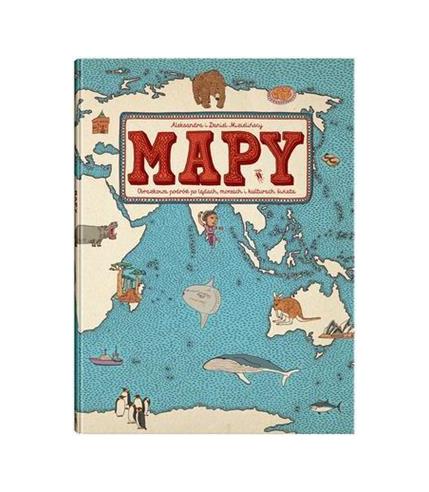 Mapy obrazkowa podróż po lądach...