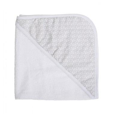 Ręcznik z kapturkiem Serca by Kasia Cichopek 95x95
