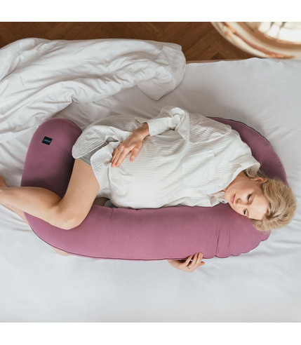Poofi, Poduszka ciążowa Organic - fiołek