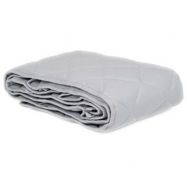 Ochraniacz pikowany Szary - na całe łóżeczko 60x120