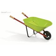 Janod, mały ogrodnik taczka zielona,