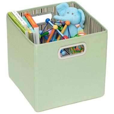 Pudełko na zabawki zielony