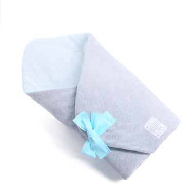 Wyprawka 3w1 Rożek Freckles in Mint , ręcznik, bawełniany kocyk Color Stories