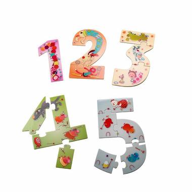 Lilliputiens, puzzle Numbers 123