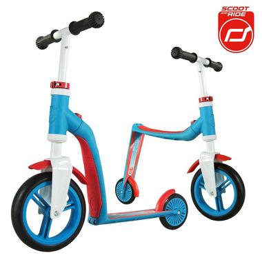 Scoot&Ride, highwaybaby 2w1 hulajnoga i rowerek Blue, Scootandride