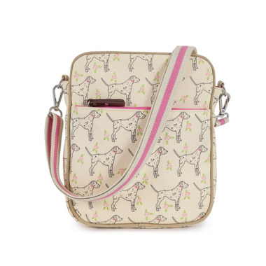 Torba Pink Lining Out and About Mini Messenger Sam The Dalmatian