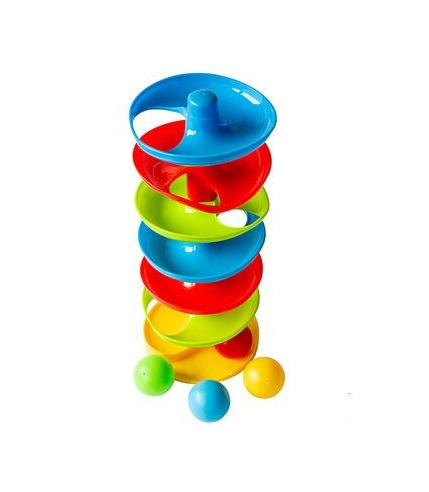 Wieża tor wyścig piłek