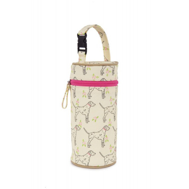 Termoizolacyjne etui na butelkę Pink Lining Sam The Dalmatian