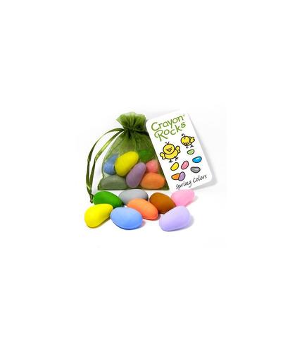 Kredki Crayon Rocks w woreczku - 8 pastelowych kolorów