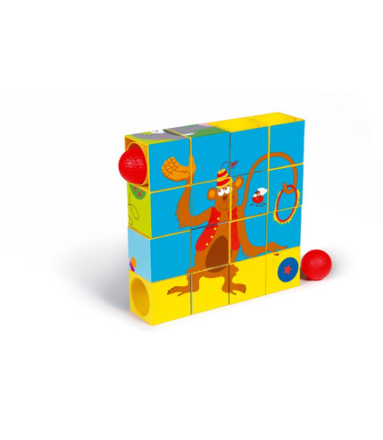 Puzzle & Rollercoaster (z piłką)