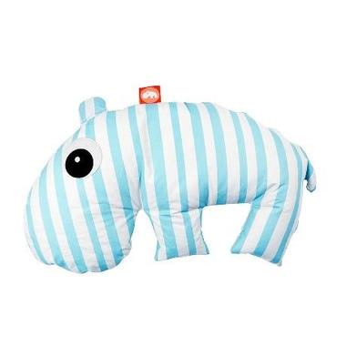 Poduszka do karmienia 3 w 1 Hipopotam Niebieska