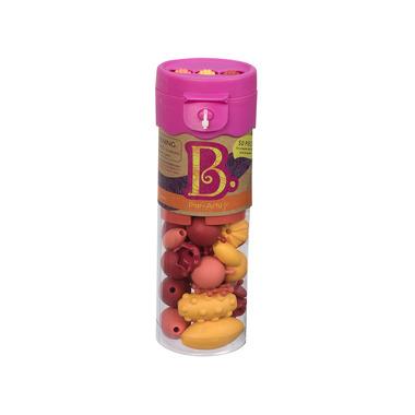 Btoys, zestaw do tworzenia biżuterii - 50 elem. B.eauty Beads Różowy