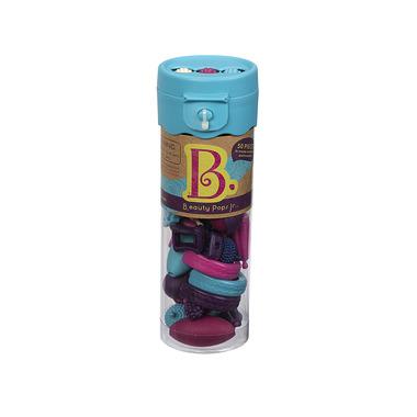 Btoys, zestaw do tworzenia biżuterii - 50 elem. B.eauty Beads Turkusowy