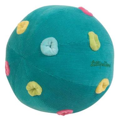 Piłka z dzwoneczkami turkusowa
