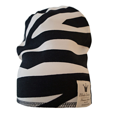 Elodie Details - czapka Zebra 12-24 m