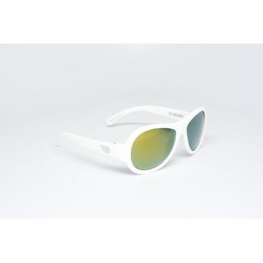 Babiators, okulary z polaryzacją Zwariowany biały żółte szkła 0-3