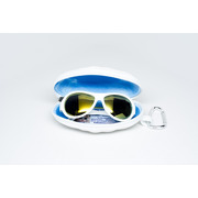 Okulary z polaryzacją Zwariowany biały żółte szkła Babiators