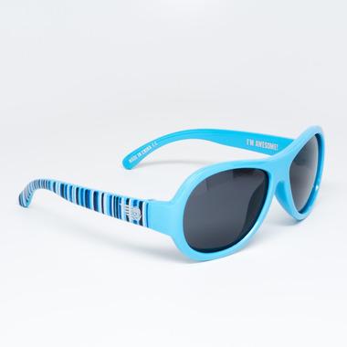 Babiators, okulary z polaryzacją Niebieski pas 0-3