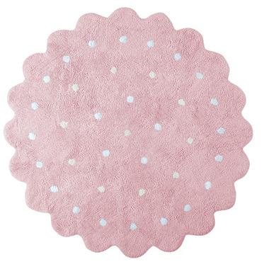 Dywan Lorena Canals ciastko okrągłe różowe