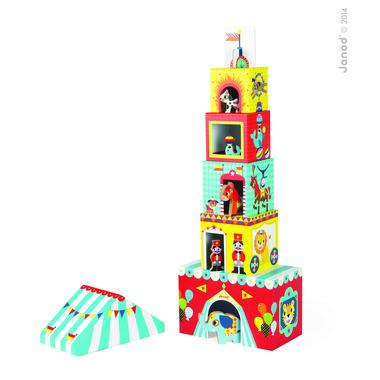 Janod, piramida wieża ze zwierzątkami Cyrk
