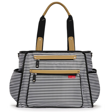 Skip Hop, torba Grand Central Black Stripe