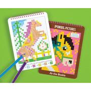 Mudpuppy, kolorowanka pixele Konie