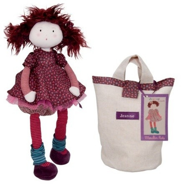 Szmaciana lalka Jeanne Moulin Roty