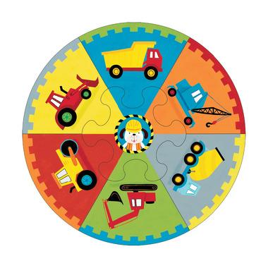 MUDPUPPY Puzzle koło Deluxe - Budowa