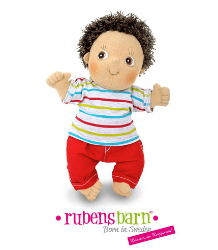 Lalka Rubens Barn chłopiec Charlie