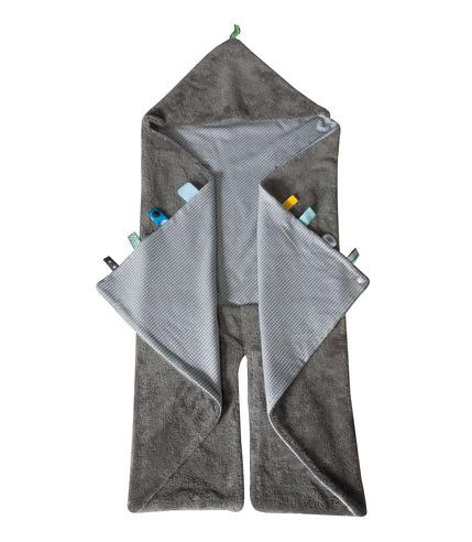 Śpiworek-otulaczek z metkami SNOOZEBABY - bawełna organiczna