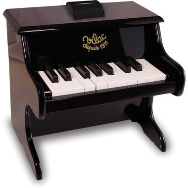 Pianino dla dzieci z nutami czarne, Vilac