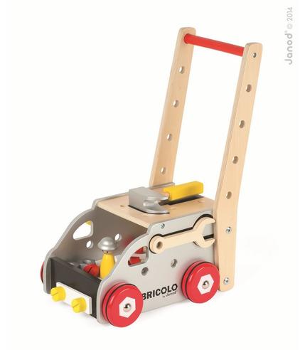 Janod, chodzik warsztat magnetyczny z narzędziami Bricolo,