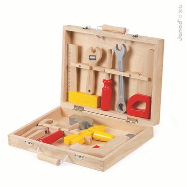 Janod, walizeczka z narzędziami Bricolo,