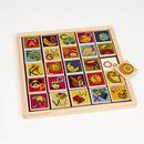 Magnetyczny alfabet z tablicą kredową B. Toys